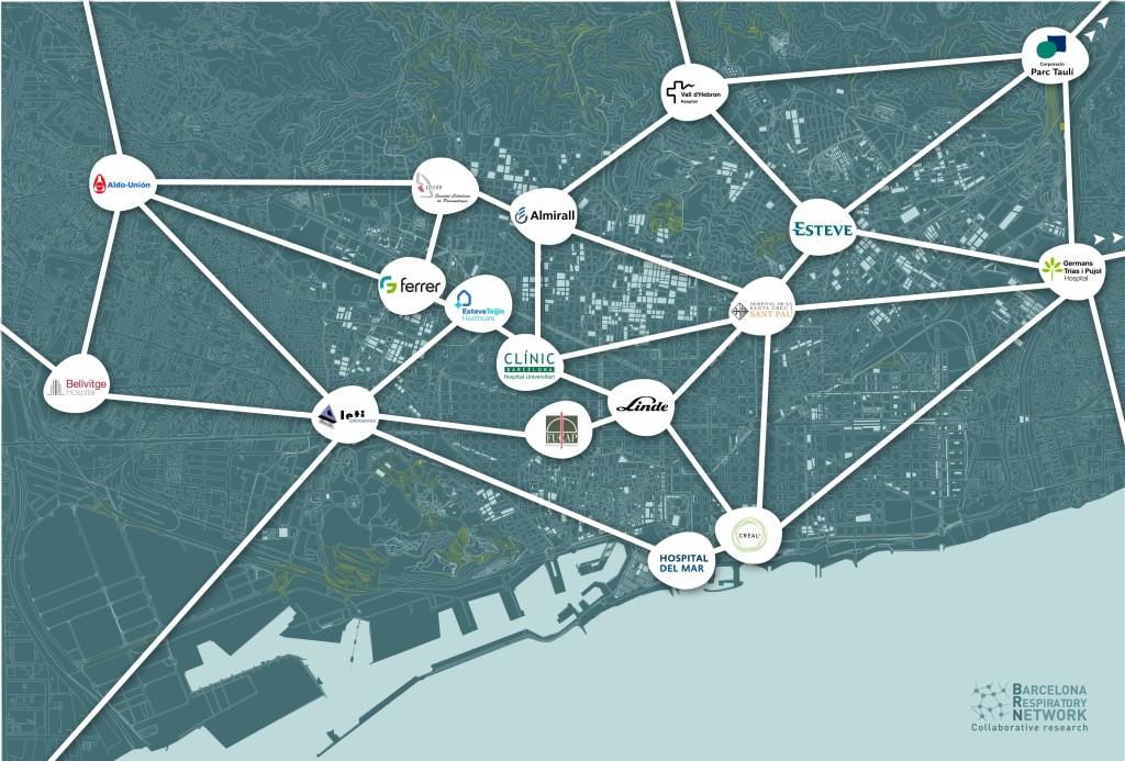 Mapa BRN